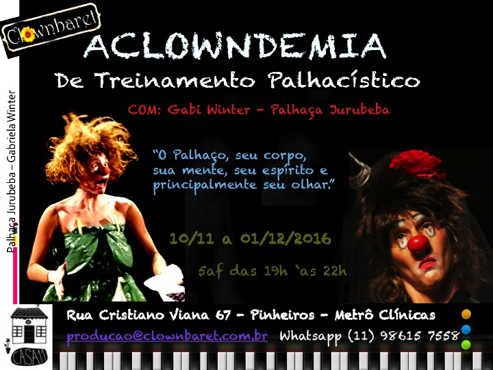 flyer aclowndemia nov16